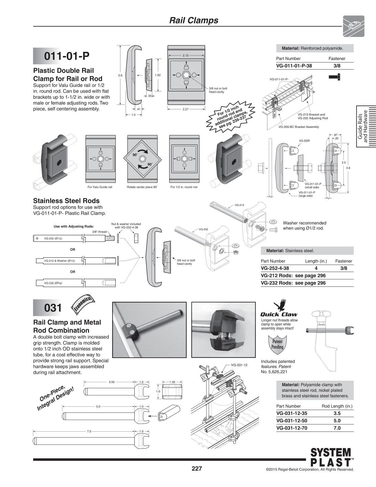 Inspirational Valu Guide Conveyor Rails